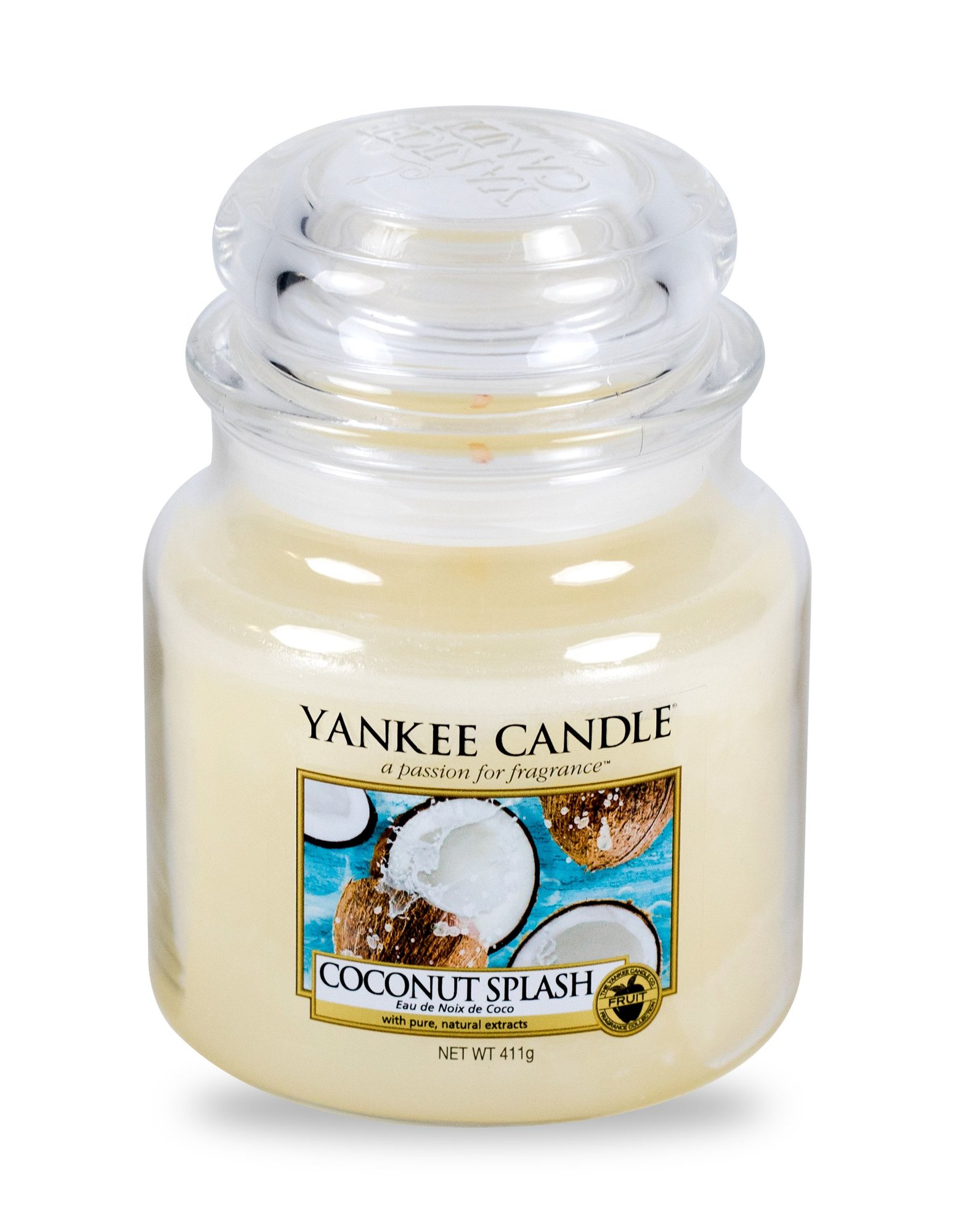 Yankee Candle Coconut Splash Scented Candle 411ml