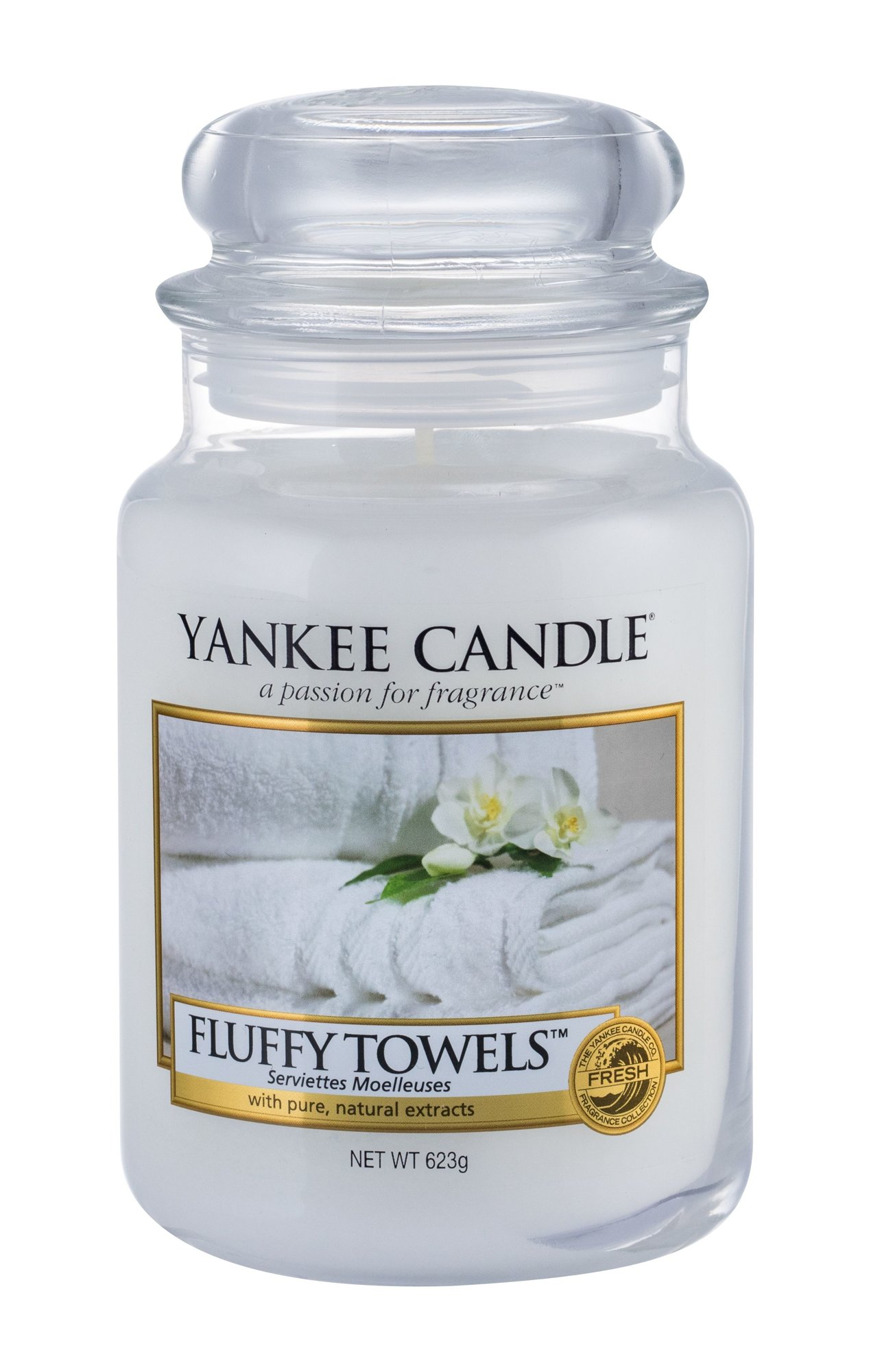 Yankee Candle Fluffy Towels Scented Candle 623ml