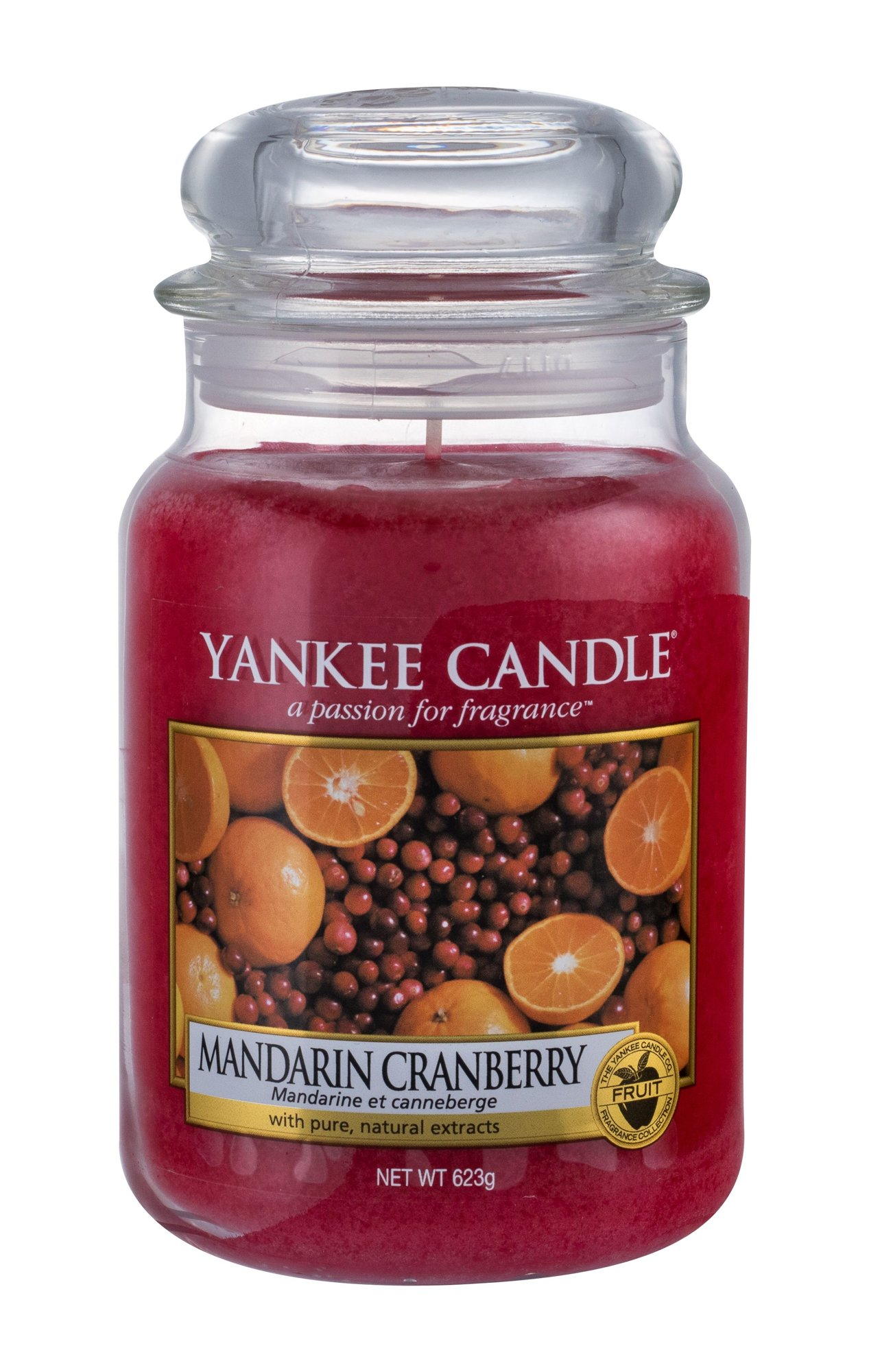 Yankee Candle Mandarin Cranberry Scented Candle 623ml