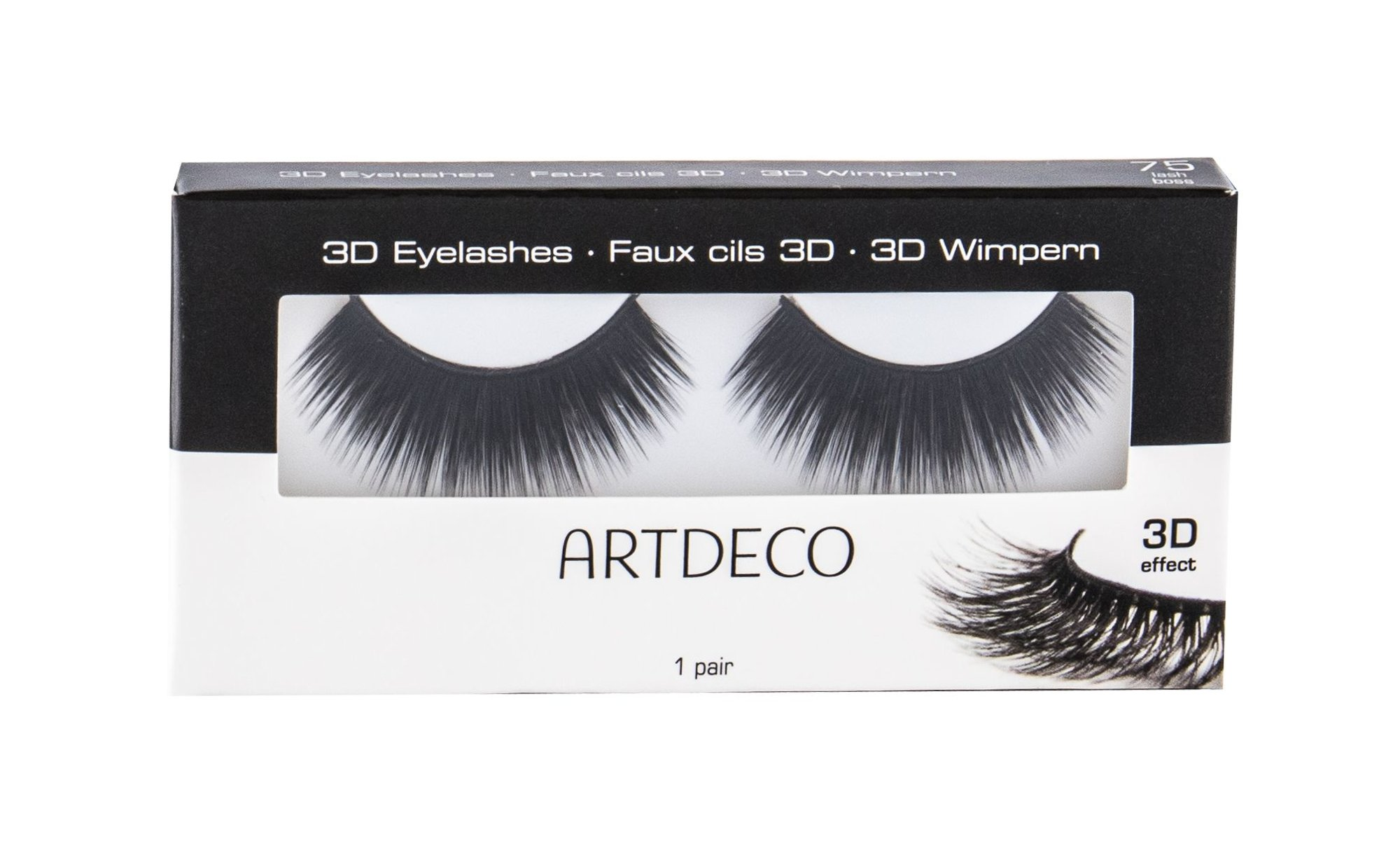 Artdeco 3D Eyelashes False Eyelashes 1ml 75 Lash Boss