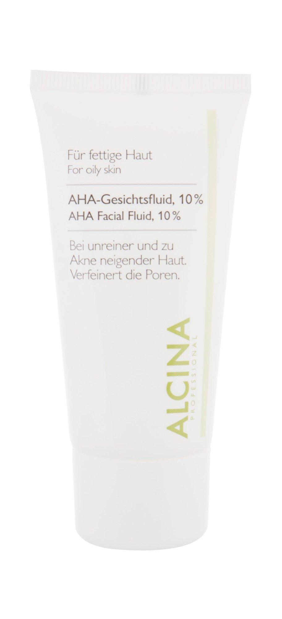 ALCINA For Oily Skin Night Skin Cream 50ml  AHA Facial Fluid, 10%
