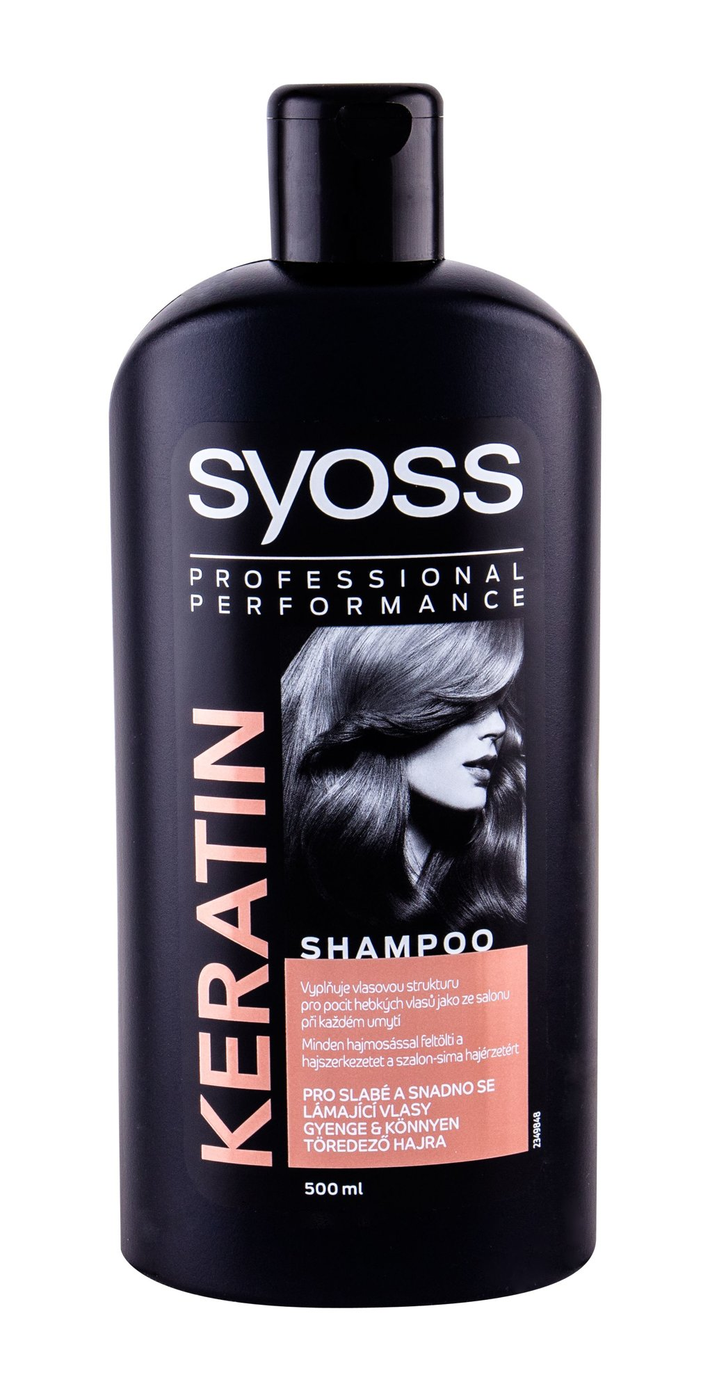 Syoss Professional Performance Keratin Shampoo 500ml