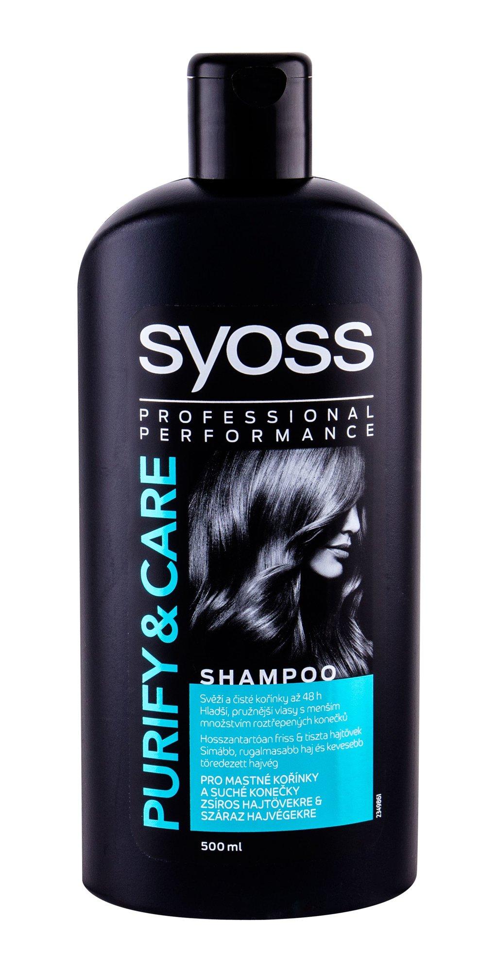 Syoss Professional Performance Purify & Care Shampoo 500ml