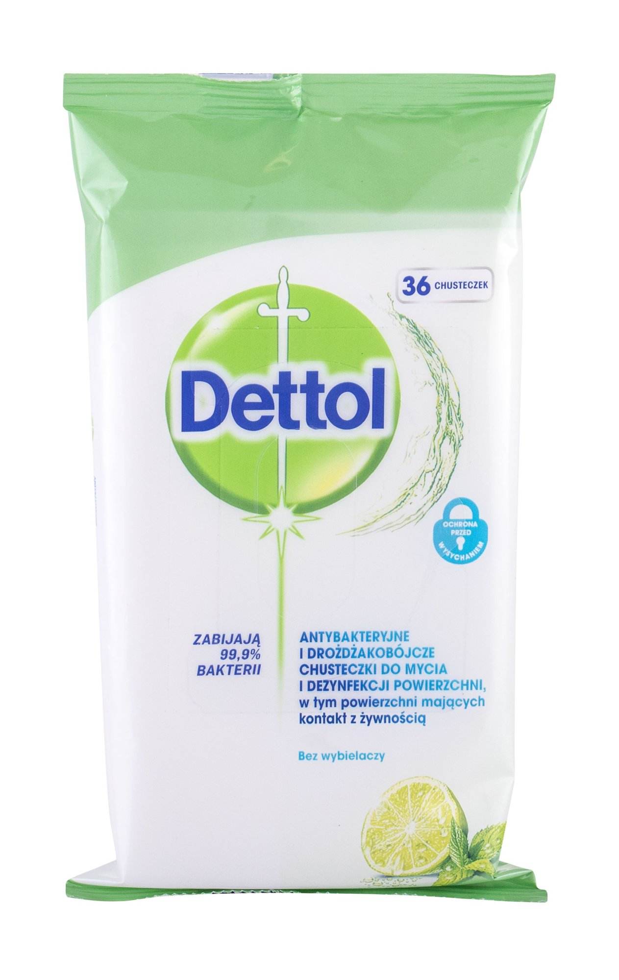 Dettol Antibacterial Antibacterial Gel 36ml  Cleansing Surface Wipes