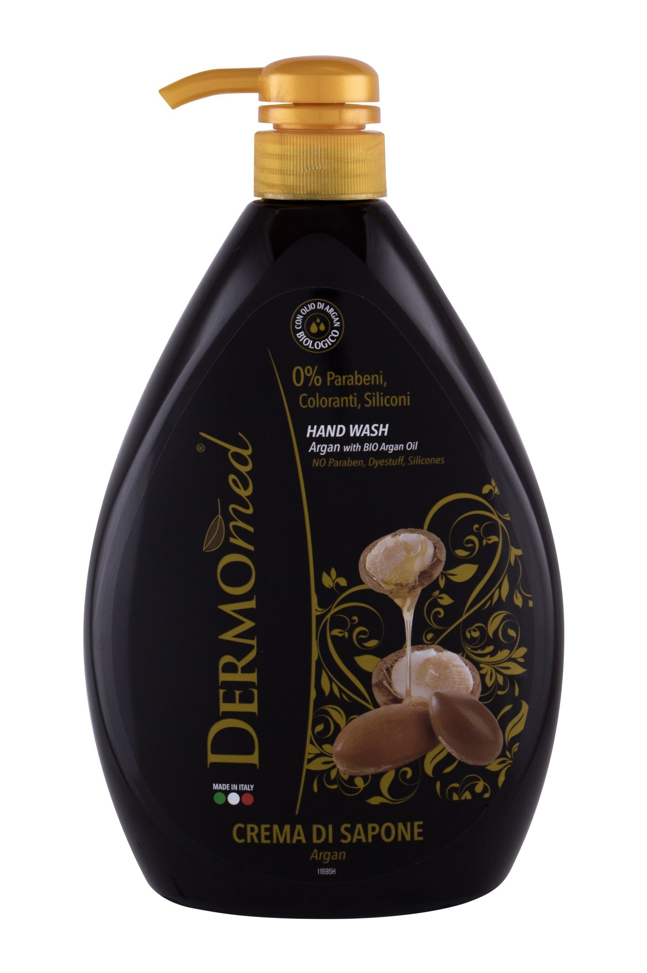 Dermomed Argan Oil Liquid Soap 1000ml  Hand Wash