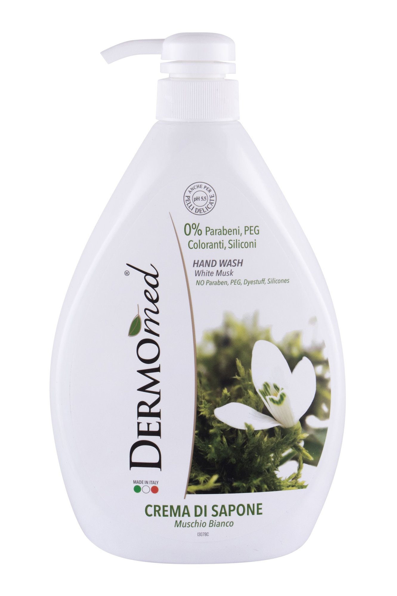 Dermomed White Musk Liquid Soap 1000ml